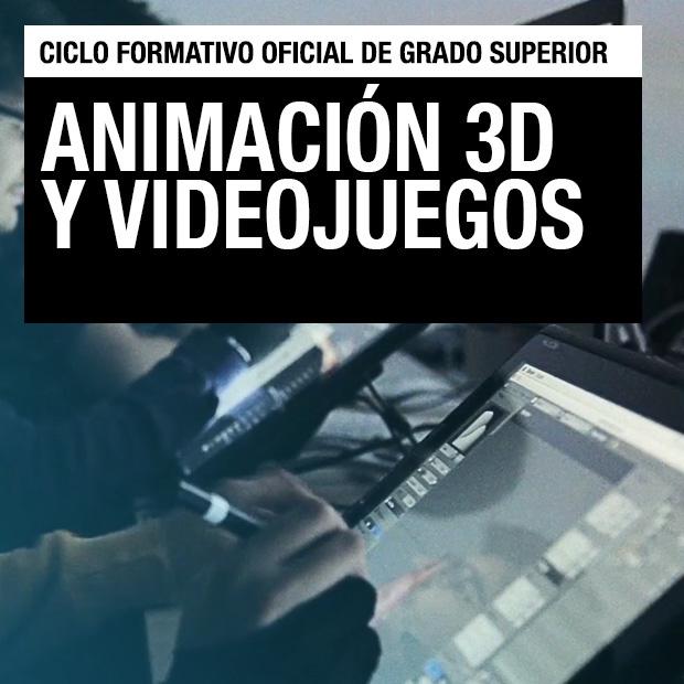 Ciclo Formativo de Grado Superior - Animación, 3D y Videojuegos