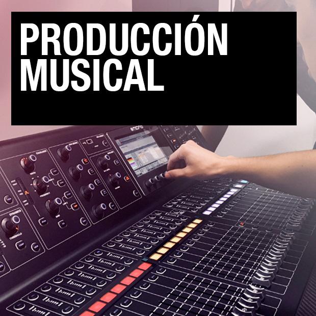 Cursos Profesionales - Producción Musical